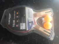 Dunlop 2 player table tennis set