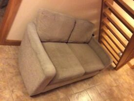 Next, large 2 seater , biscuit/oatmeal colour