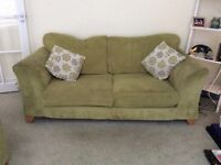 One 2 seater sofa and One 3 seater sofa bed