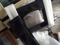 Rangemaster : Set of 4 black door skins for Rangemaster Classic