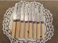 Set Of 8 Small Butter Knives