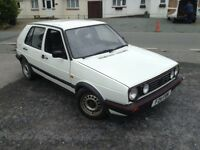 VW GOLF GTI MARK II 1989 5 DOOR