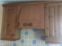 Kitchen cupboards and work tops for sale 11 units