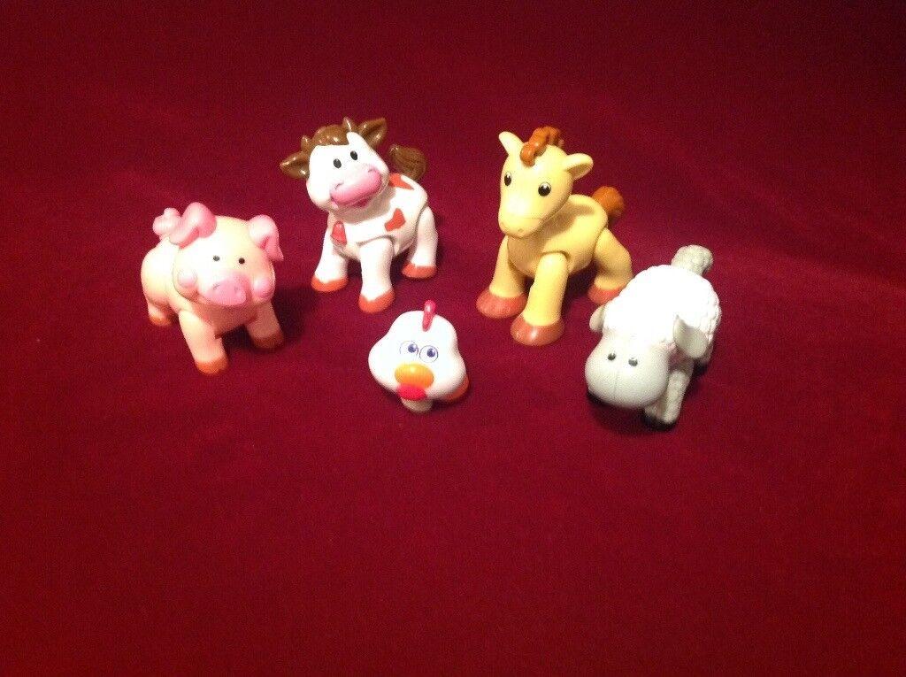 Tiny Hands Clicket Farm Toys.