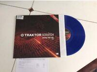 Traktor Dj Timecode Vinyl (Blue)