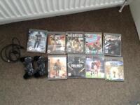 PlayStation 3 - 2 controller + Games bundle!