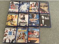 Assorted PlayStation 2 games (x 11)