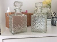 X2 Glass Decanters