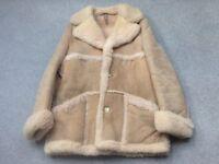 Suede Sheep Skin Coat