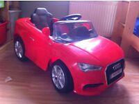 Kids electric ride-on Audi car