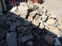 Beautiful grey stone, local, 2.5-3 tonnes, ready for collection!
