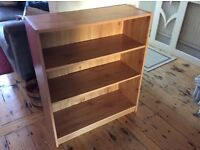 Oak Veneer Bookshelf