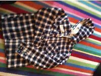 BNWT York & Wolf Fleece Lined Hooded Lumberjack Shirt (XXL but Fits XL)