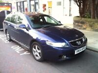 2004 HONDA ACCORD 2.2 i CTDI EXECUTIVE TOURER ESTATE, ONLY 78K, ONE PREVIOUS