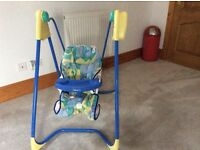 Graco musical baby swing and chair
