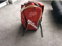 Roger Federer Wilson tennis backpack