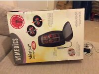 Shiatsu heat massager