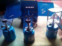 Gaz gas Camping stoves and lamp
