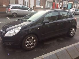 Vauxhall Corsa 1.4 Petrol Black 5DR ideal for a new driver full service history HPI Clear
