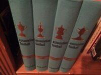 𝙵ootball Association 4 Books Fabian & Green Volume 1 x 4. 1961