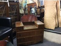 Vintage dressing table & chest of drawers