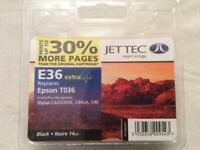 Jet Tec Inkjet Cartridge for Epson T036