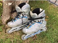 Salomon Women's Size6.5 inline skates or rollerblades