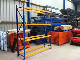 APEX INDUSTRIAL SHOP GARAGE CONTAINER WAREHOUSE WORKSHOP LONGSPAN MINI RACKING 600mm DEEP BAY UNIT