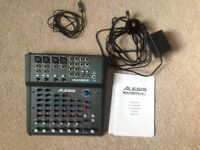 ALESIS MM8 USB FX 8 - CHANNEL MIXER AS NEW