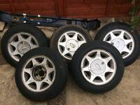 brooklands style 2.8i ford Capri wheels