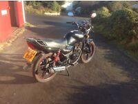 2014 Sinnis Max 2 125 4 Stroke Motorcycle