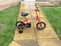 Boys space pig bike