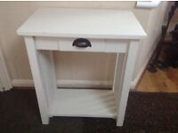 Bedside table, wooden cabinet