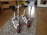 Electric scooters for sale. Never used. £60 each. Collection Newtownabbey. Tel 07882537937