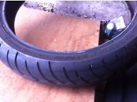front tyre 120/70/18zr