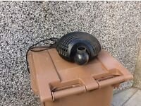 Water pump for pond. OASA model. Dyce area.