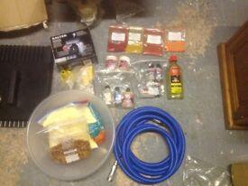 Complete boilie making setup