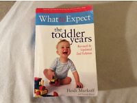 Book what to expect the toddler years