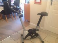 Home Exercise Bike - EXCELLENT CONDITION - 10 Levels of resistance, LCD Monitor