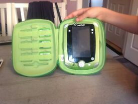 Leap pad leap frog 2 plus 3 games and carry case