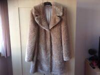 News Ladies M&S Faux Fur Jacket