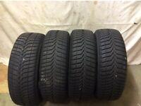 For sale. 4 = Verdestein 205/60 R16 92H winter tyres.