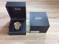 Hugo Boss Silver & Gold Watch