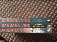 Barbara vine book set