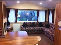 2012 Willerby Rio Gold 2 Bedrooms static caravan for sale on a luxury pitch with lovely views
