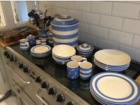 Job lot of cornishware
