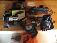 Power tools and accessories for sale