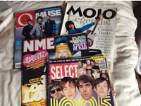 Mojo,Q,UnCut back copies - Free! All gone, than you for showing interest