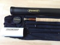 SAGE ONE FLY ROD NEW!! 9ft 6 wt WITH WARRENTY RRP £749.00!!!!