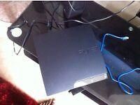 Sony PlayStation 3 Slim Charcoal Black Console